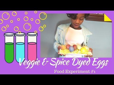 Veggie & Spice Dyed Eggs