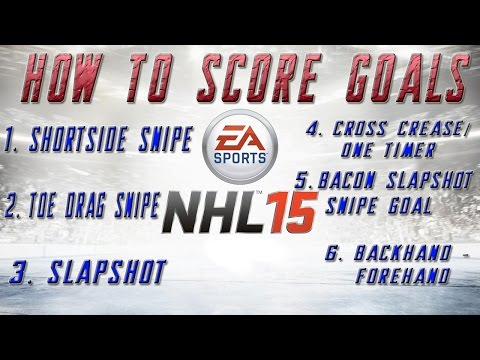 NHL 15 Tips and Tricks - How to Score Goals
