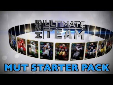 Madden 25 - Ultimate Team MUT - Opening Starter Pack - Team Bang
