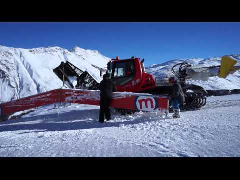 Mottolino snowpark 15/16 building edit