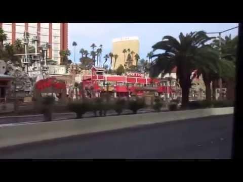 Best bus ride ever SDX Las Vegas Blvd to Fremont Street Downtown Part 4 of 6