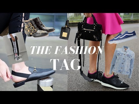 FASHION TAG Q&A | My Fashion Favourites and Personal Style