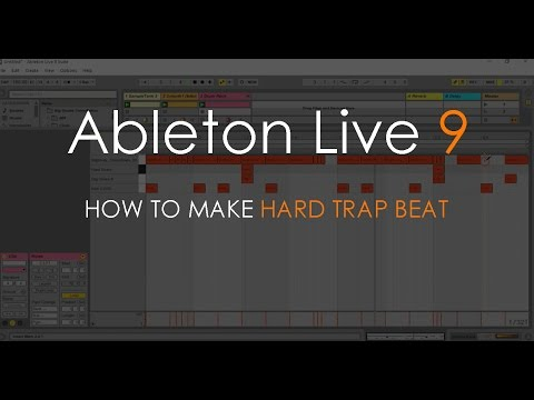 How to Make Hard Trap Beat | Ableton Live 9 Tutorial