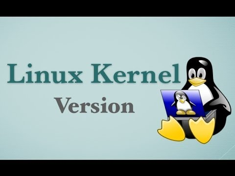 Find The Linux Kernel Version Command Tutorial