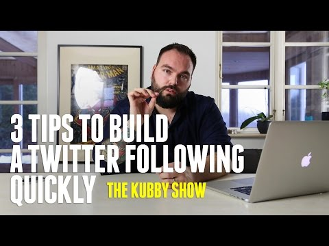How To Grow Your Twitter Following Quickly - Get more followers