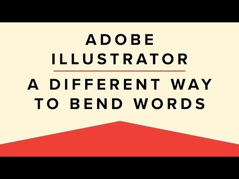 How To Bend Words With the Shear Tool | Adobe Illustrator Basics