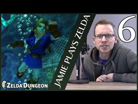 How Hard Is the Water Temple for a Zelda Newbie? - Jamie Plays Zelda