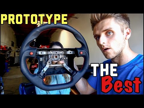 Installing The Nicest Miata Steering Wheel There Is!