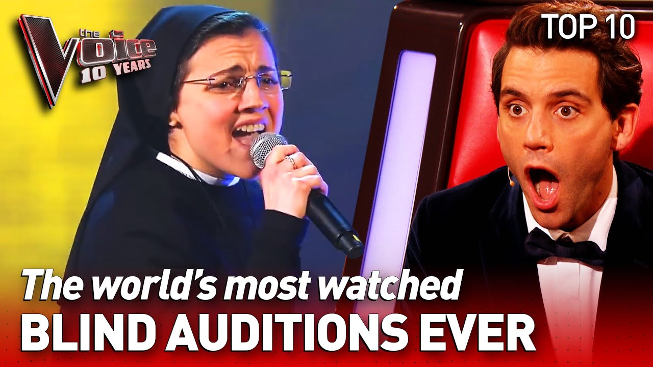 OVER 794 MILLION VIEWS: the most-watched Blind Auditions of The Voice | TOP 10