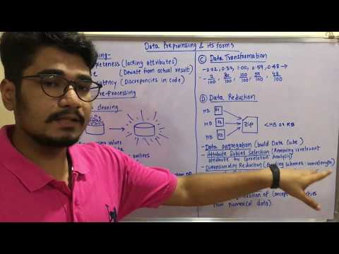 Data Mining & Business Intelligence | Tutorial #4 | Forms Of Data Preprocessing