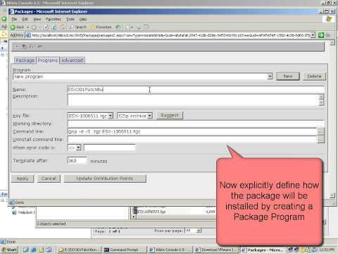 Patch VMware ESX