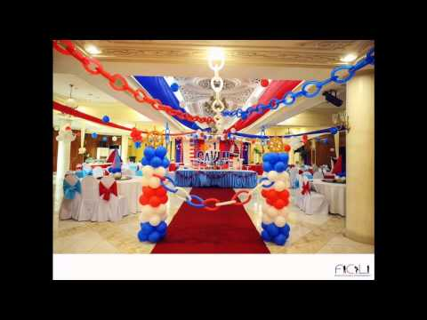 Simple Nautical party decorating ideas