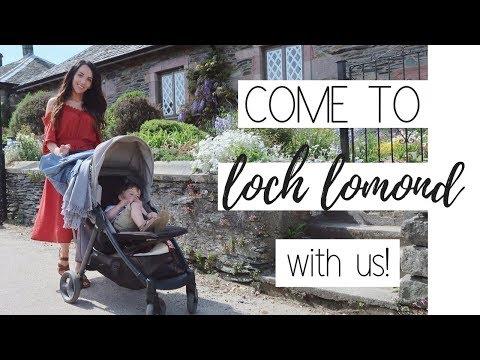 FAMILY DAY OUT TO LOCH LOMOND | WEEKEND VLOG