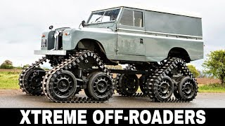 10 Brutal Trucks and All-Terrain Vehicles for Extreme Off-Roading in 2018
