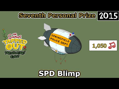 TSTO - Terwilligers Event | SPD Blimp | Seventh Prize (2015)