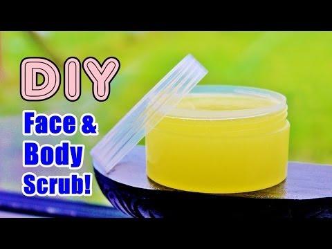 DIY: Face & Body Scrub - Get Soft, Smooth & Glowing Skin!