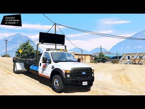 2008 Ford F-550 Flatbed Tow Truck Grand Theft Auto V , VI - future
