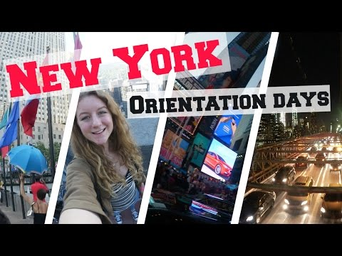 New York FMA - Orientation Days AIFS 🗽🌉🏙