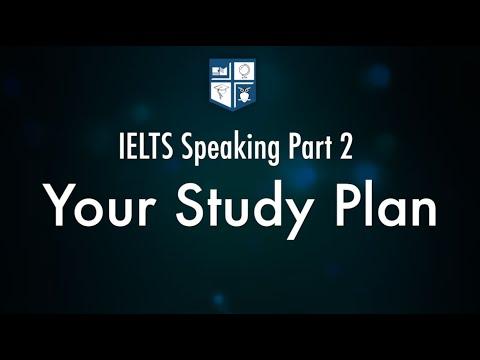 English Master – Sample Speaking Part 2: Your study plan