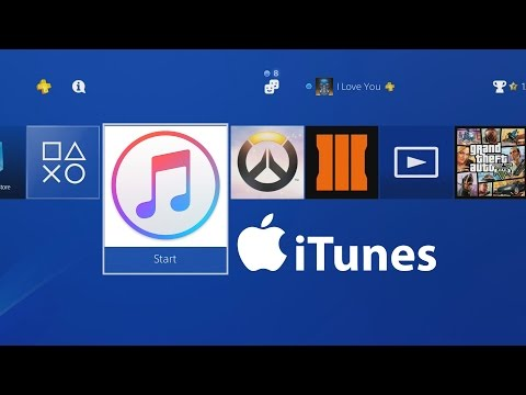WHAT HAPPENS WHEN YOU DOWNLOAD ITUNES ON PS4?