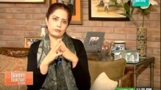 Atiqa odho interview ,Naeem Bukhari Kay Sath, 28th December 2014 , Dawn News