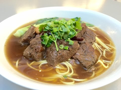 Longevity Chinese Beef Noodle Soup Recipe 紅燒牛肉面 for Chinese New Year