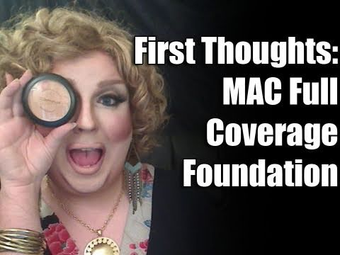 First Thoughts: MAC Full Coverage Foundation