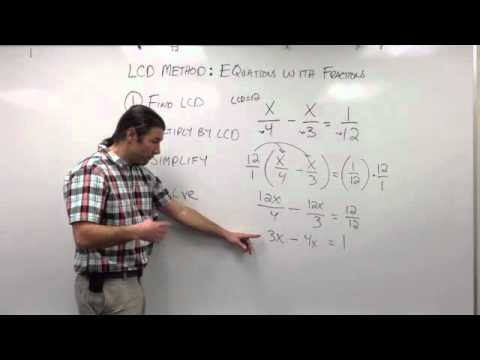 Solving Equations: The LCD Method