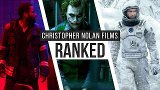Christopher Nolan Films Ranked