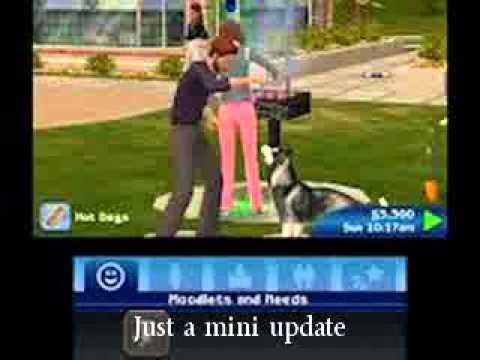 Sims 3 Pets 3ds Update