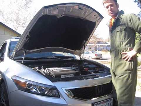 Oil change on 2009 Honda Accord V6