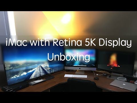 iMac with Retina 5K Display Unboxing and Review (With Minecraft FPS Test)