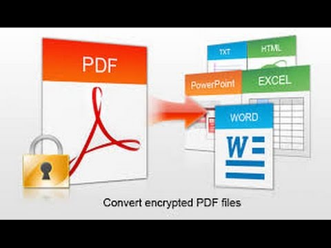 How To Convert PDF File To All Other Formats For Windows/Mac - Universal Format Converter 2015