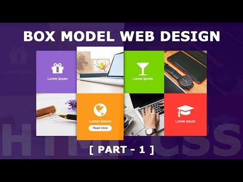 Responsive Box Model Web Design - Part 1 - Html5 CSS3 Responsive Design Tutorial Using Media Query