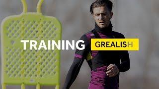 Behind the scenes: Jack Grealish returns to training