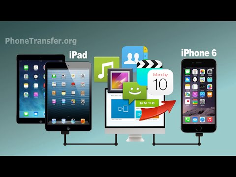 How to Transfer All Data from iPad to iPhone 6, Sync iPad Photos, Videos, Music with iPhone 6S