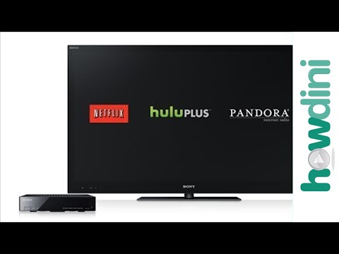 How to Stream/Watch Netflix, Hulu and Pandora on Your TV