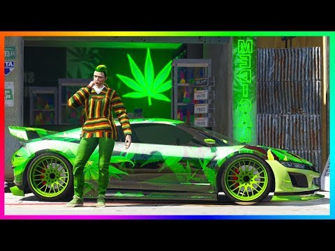 GTA Online Happy 420 Day 2018 Weed Content Updating Arriving Next Week - NEW GTA 5 Bonuses & MORE!