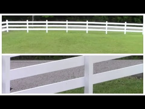How to: BUILD YOUR OWN FENCE