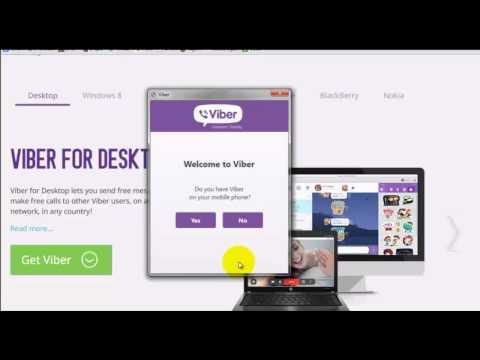How to Install Viber on Your PC | Use Viber Like Skype