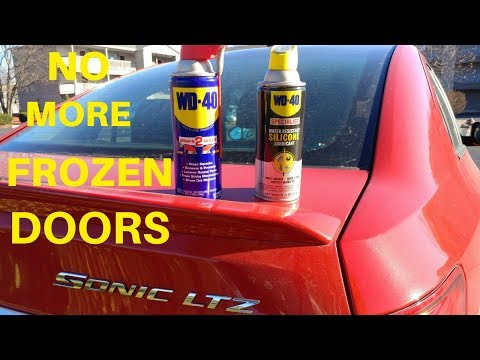 How to make sure your car doors will open in the winter
