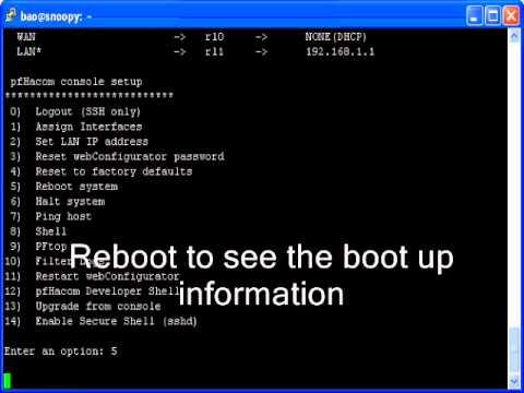 Hacom IT-100 pfSense Install