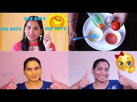 How to Remove Sun Tan from Your Face Fast| Home Made in Hindi| IMMEDIATE RESULTS