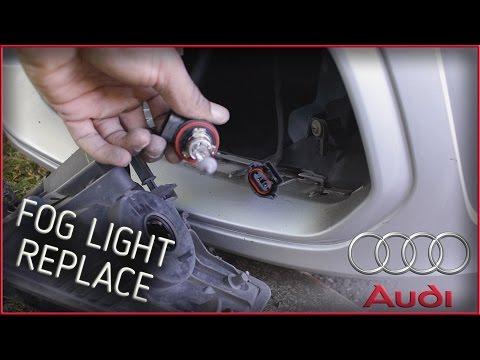 AUDI A3 8V 2013 - Front Fog bulb change