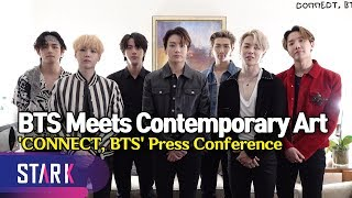 'CONNECT, BTS' Press Conference (현대미술로 만나는 방탄소년단 'CONNECT, BTS')
