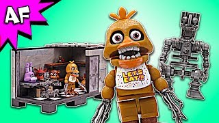 Five Nights at Freddy's BACKSTAGE Speed Build - FNAF McFarlane Toys LEGO compatible set