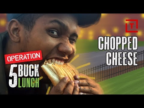 The Best Cheap Chopped Cheese Sandwich in NYC || Operation $5 Lunch