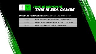 [DAY 5 Coverage] Esports @ SEA Games 2019 – Gold Medal Matches for Hearthstone, AOV and DOTA 2