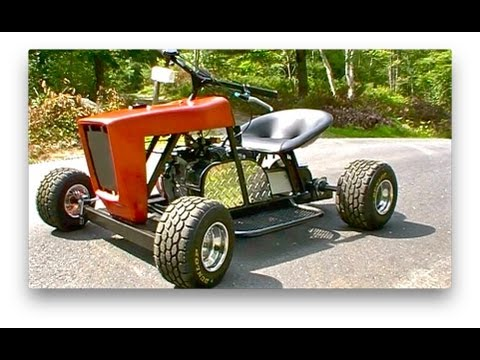 Racing Mower/Go Kart is FINISHED!