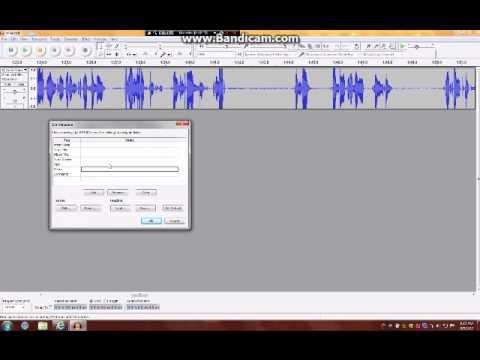 how to put audacity voice recording on windows movie maker